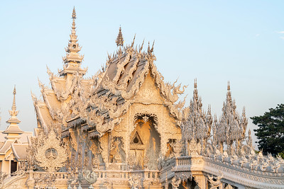 White Temple at Dawn