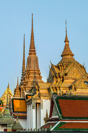 The Grand Palace at Sunset