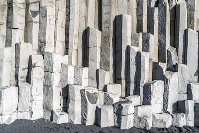 Basalt Columns in Vik (Landscape)