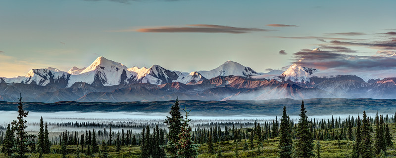 Alaska Range Sunrise