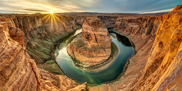 Horseshoe Bend Sunstar