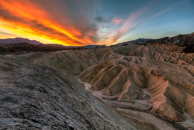 Sunrise at Zabrinskie Point