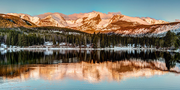 Sprague Lake Sunrise