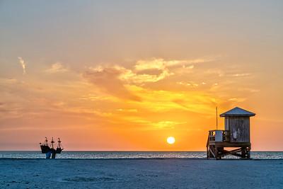 Sand Key Park Sunset