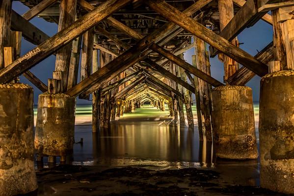 Redington Long Pier at Night