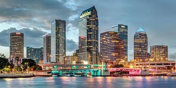 Tampa at Dusk