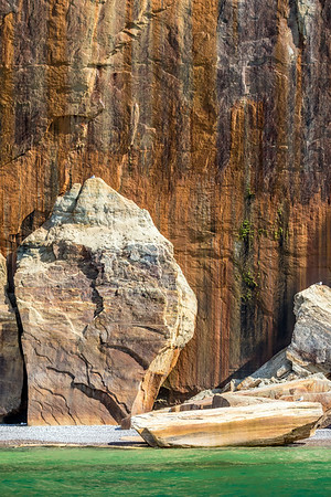 Fallen Rocks at Pictured Rocks