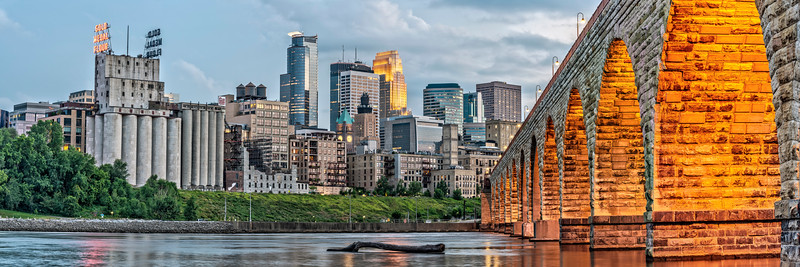 Minneapolis and Stone Arch Bridge 2018
