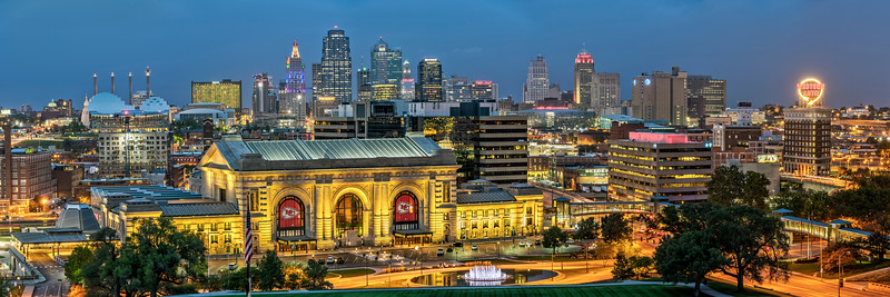 Kansas City Panorama 2018