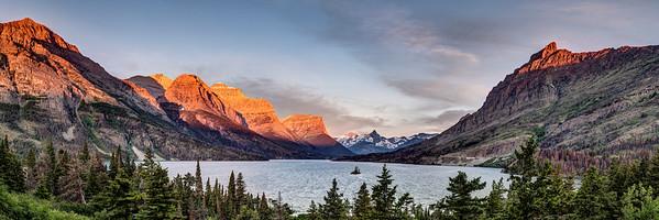 Saint Mary Lake Sunrise