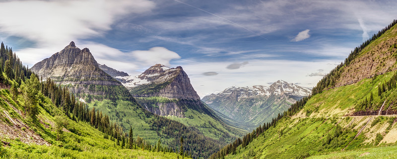 Summer in Glacier National Park
