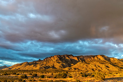 Sandia Mountains at Sunset