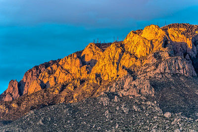 Sandia Crest at Sunset