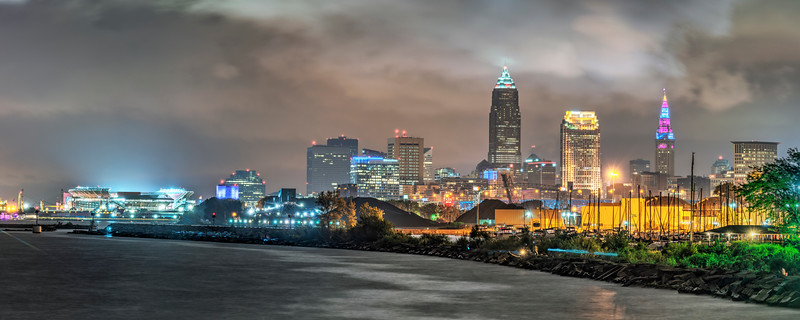 Cleveland 2018 Panorama