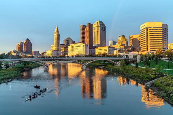 Rowing through Columbus