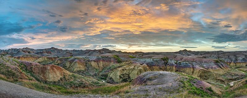 Yellow Mounds Sunrise