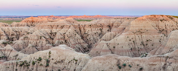 Badlands Dawn Panorama