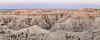Badlands Dawn Panorama