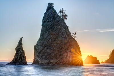 Rialto Beach Sunstar
