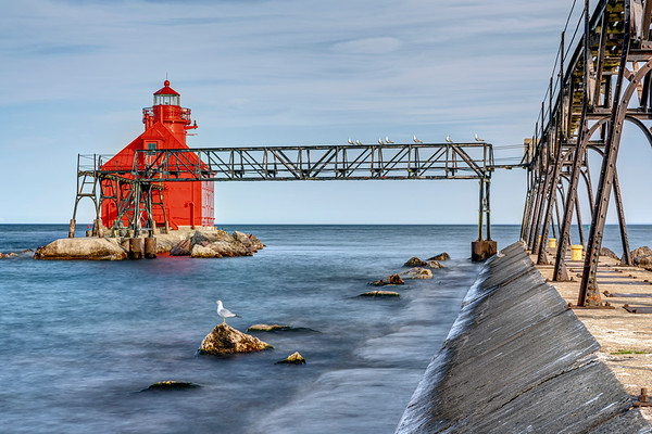 Sturgeon Bay Ship Canal Pierhead 2