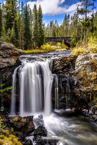 Moose Falls in Autumn