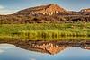 Two Ocean Mountain Reflection