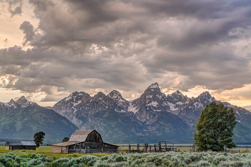 Stormy Skies at Mormon Row