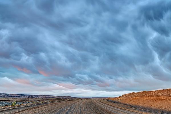 Worst Road, Best Clouds