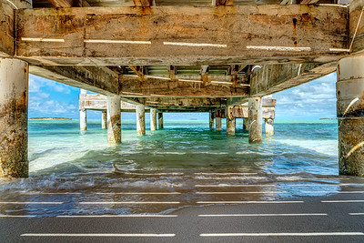 Under Bambarra Pier