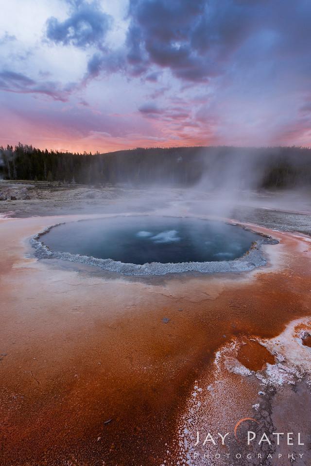 Old Failthful Area, Yellowstone National Park Wyoming (WY), USA