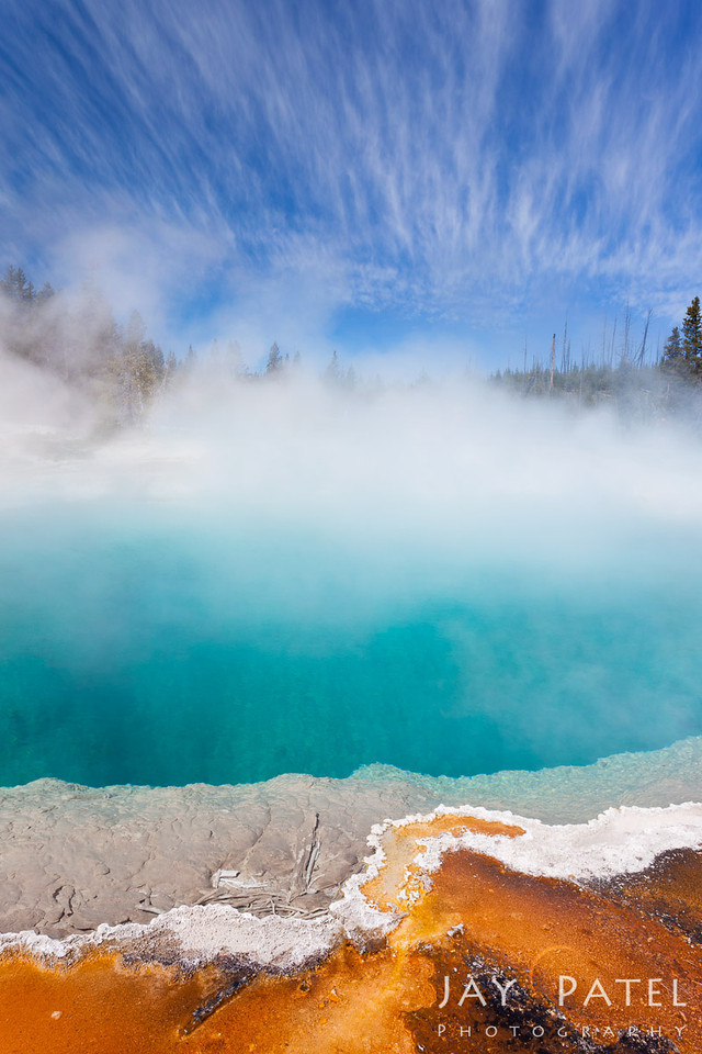 West Thumb, Yellowstone National Park Wyoming (WY), USA