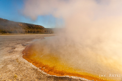 Black Sand Basin, Yellowstone National Park Wyoming (WY), USA