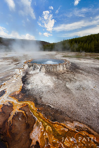 Old Failthful Area, Yellowstone National Park Wyoming (WY), USA