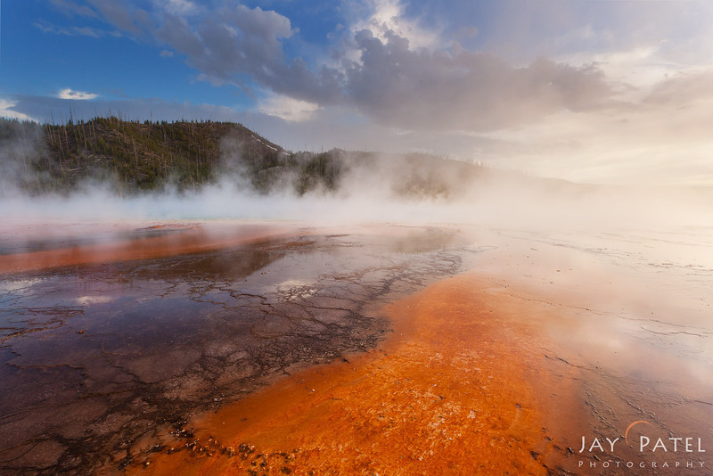 Lower Geyser Basin, Yellowstone National Park Wyoming (WY), USA