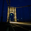 George Washington Bridge - Tower Lights - July 4, 2017