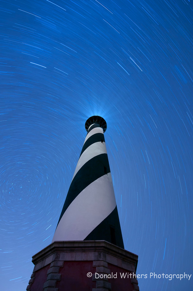 Star Trails -  Cape Hatteras Lighthouse