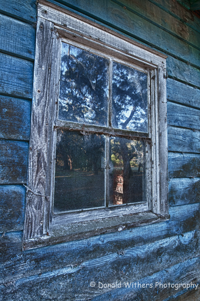 Through the Window - Vereen House