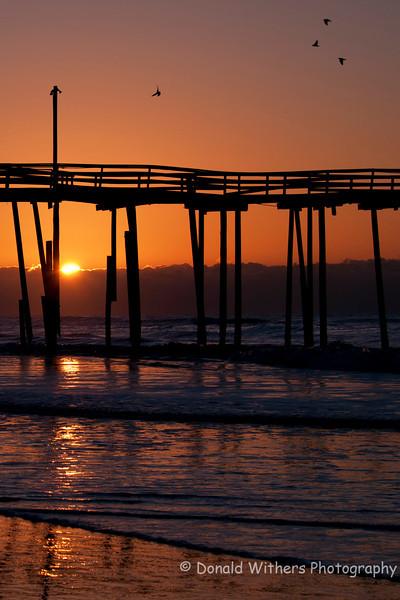 Good Morning  - Old Cape Hatteras Pier