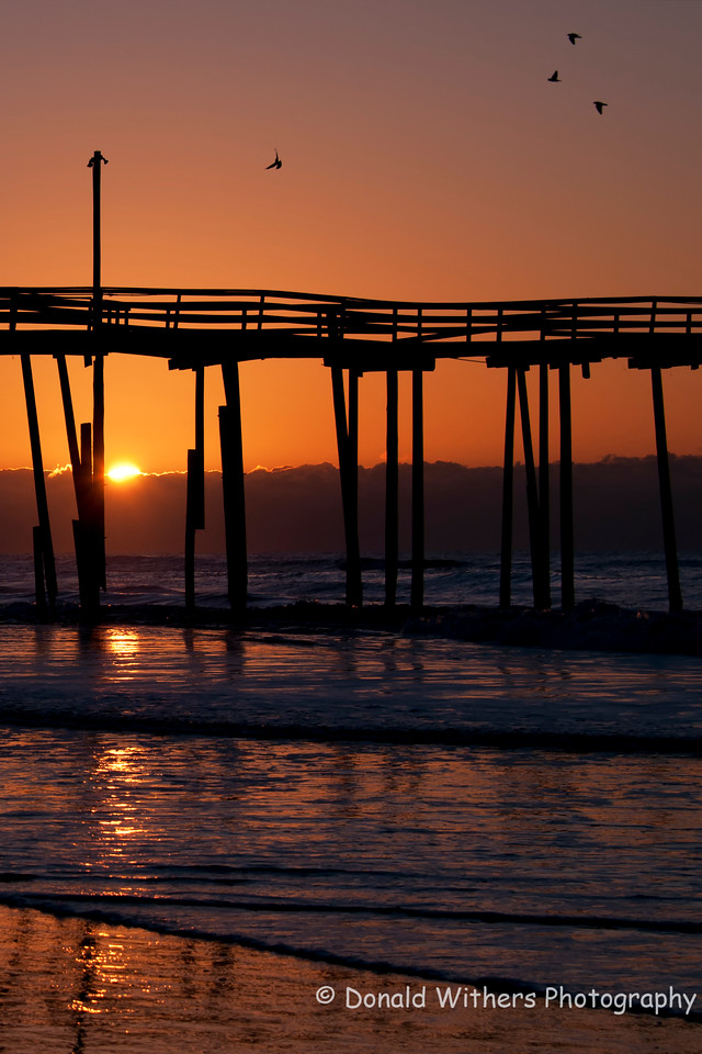 Good Morning  - Old Cape Hatteras Pier