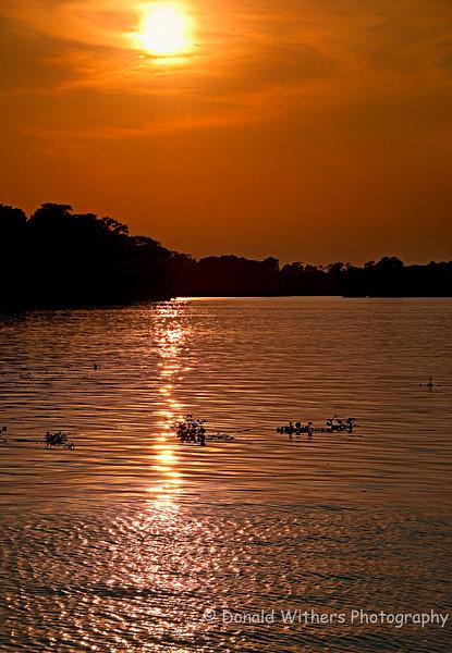 Sunset on the Waccamaw