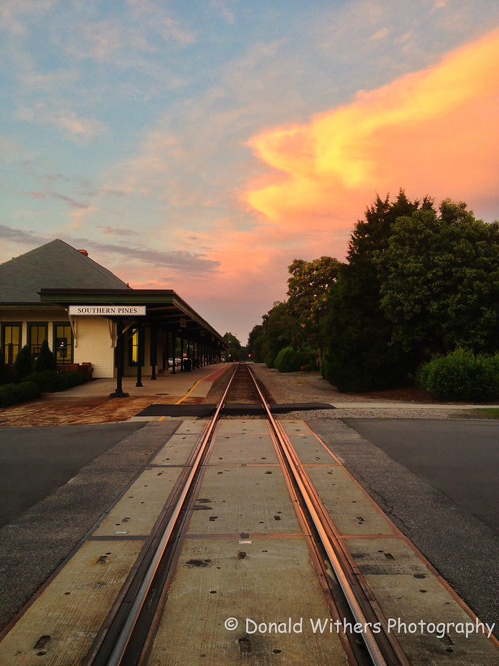 Southern Pines Railway Station
