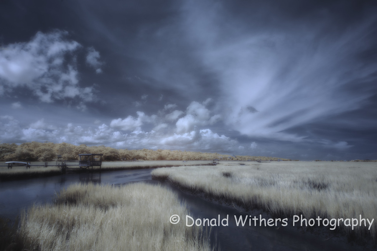 Clouds on the Marsh