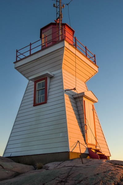 Killarney Lighthouse at sunset