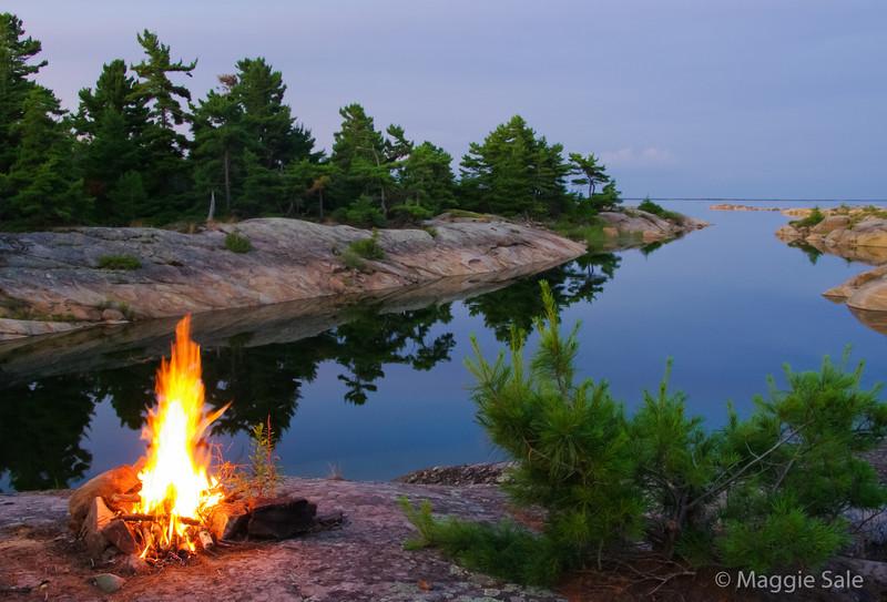 Bustard Islands Campfire