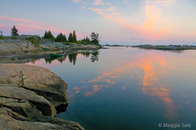 Black Bay Reflection