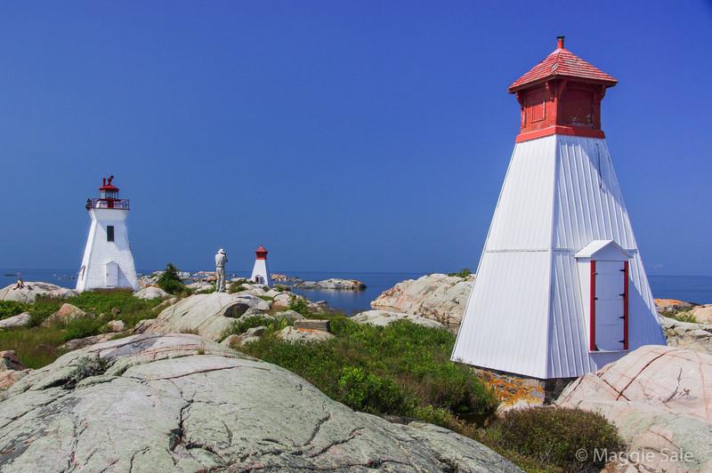 Bustard Islands Lighthouses
