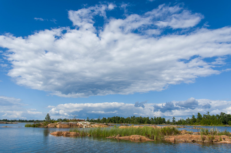 Clouds south of Byng Inlet