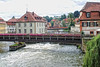 Up the Regnitz River - and the flower lined bridges - Bamberg