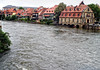 Across the Regnitz River - to the Old Slaughter House - and Klein Venedig (Little Venice) -  Bamberg
