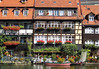 Klein Venedig (Little Venice) - with the half-timbered former fishermen's houses - along the Regnitz River - Bamberg